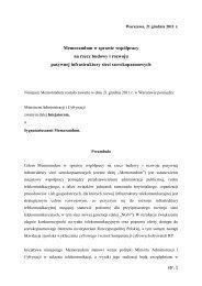 str. 1 Memorandum w sprawie współpracy na rzecz budowy i ...