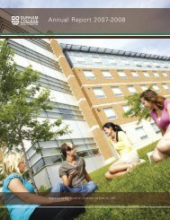 Annual Report 2007 – 2008 [PDF - 942 KB] - Durham College