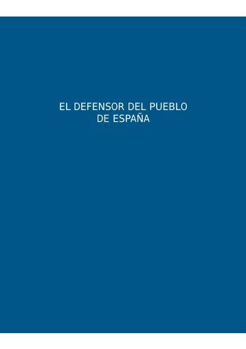 II. El Defensor del Pueblo de España.