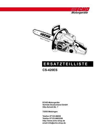 CS-420ES - Gartentechnik-Bremen