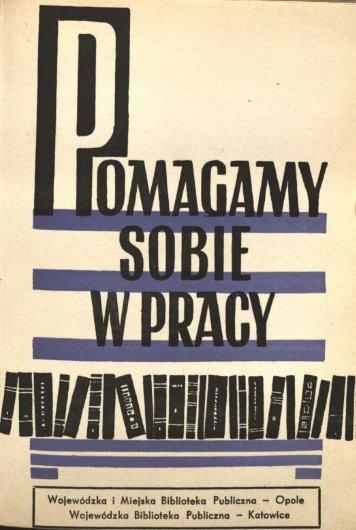 Wojewódzka i Miejska Biblioteka Publiczna - Bibliotekarz Opolski