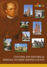 Cultural and Historical Heritage of Osijek-Baranja County