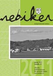 Nebiker - Januar 2011 - Gemeinde Nebikon