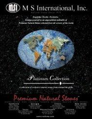 Platinum Collection - Natural Stone
