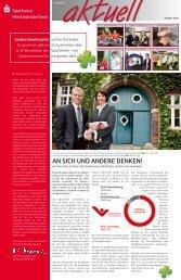 Großes Gewinnspiel - Sparkasse Westmünsterland