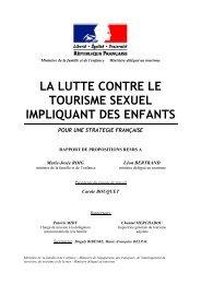 la lutte contre le tourisme sexuel impliquant des enfants - Ecpat France