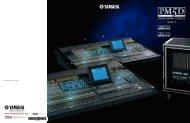 PM5D V2 Brochure 4.28MB - Yamaha Commercial Audio