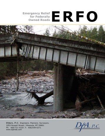 Emergency Relief for Federally Owned Roads - Djanda.com