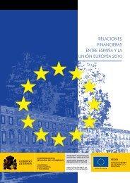 relaciones financieras entre españa y la unión europea 2010