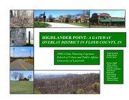 HIGHLANDER POINT: A GATEWAY - Floyd County Indiana