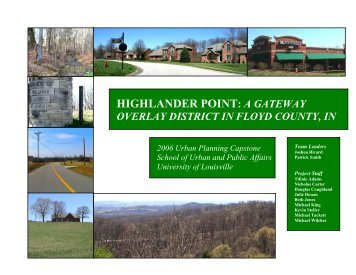 HIGHLANDER POINT: A GATEWAY - Floyd County Indiana