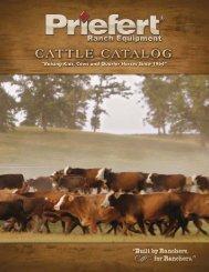 Cattle Catalog - Priefert Manufacturing