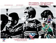 Phys Ed Curriculum Guide - Rugby NY