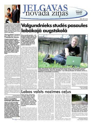 2010. gada augusts Nr.8. - Jelgavas rajona padome