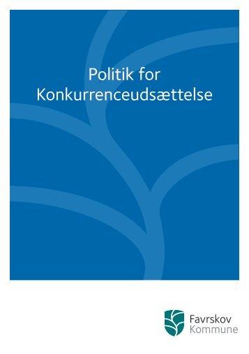Politik for Konkurrenceudsættelse - Favrskov Kommune