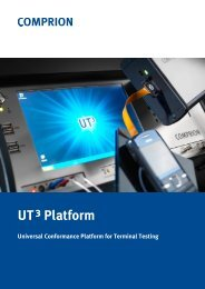 Test systems for all interfaces - Comprion