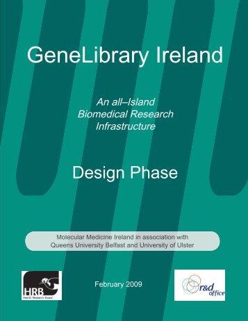 GeneLibrary Ireland - Molecular Medicine Ireland