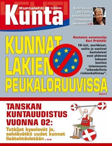 Painetun lehden PDF-versio - Kuntalehti