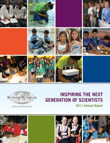 2011 Annual Report - Science Olympiad