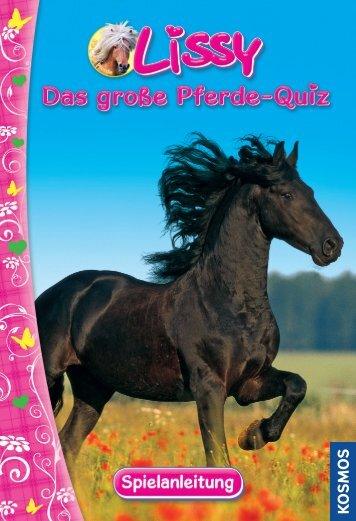 In diesem spannenden Pferde-Quizspiel warten jede Menge - Kosmos