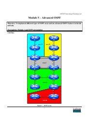 Module 5 – Advanced OSPF