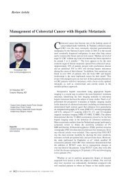 Management of Colorectal Cancer with Hepatic Metastasis