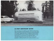 22' Safari Floor Plans and Specifications - Airstream