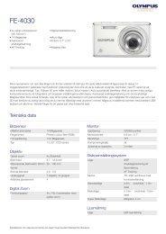 FE-4030, Olympus, Compact Cameras