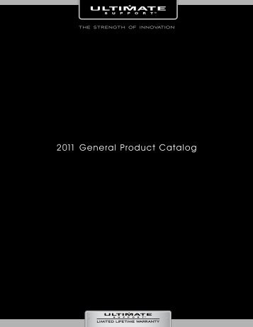 2011 General Product Catalog - Pro Audio and Lighting