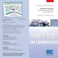 Die Mitte im Umbruch - Friedrich-Ebert-Stiftung
