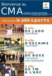 Découvrez le pôle sports - Laval