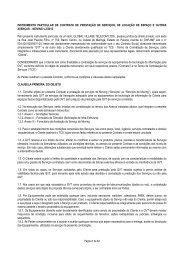 Contrato Moving - GVT