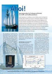 Ahoi Sonderdruck MessTec Automation - SWIFT GmbH