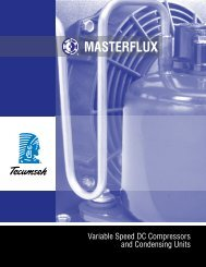 MasterFlux Variable Speed DC Compressors - HVAC and ...