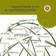 3316 (6) Ansvar og led>pdf - Dansk Sygeplejeråd