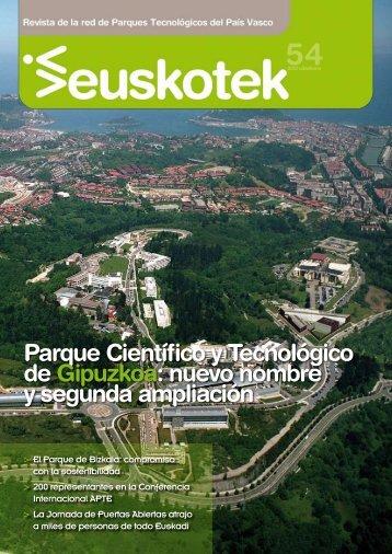 Euskotek Nº 54 - Red de Parques Tecnológicos de Euskadi