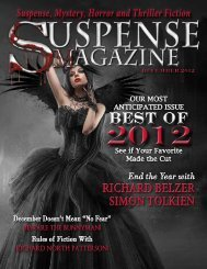 Suspense Magazine December 2012