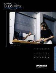 DuraShutter - Raynor Garage Doors