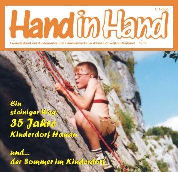 Hand in Hand 02/2001 - Albert-Schweitzer-Verband