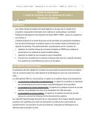 Guide du participant (PDF - 187 KB) - COOPAMI