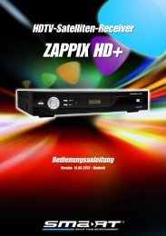 ZAPPIX HD+ - SMART Electronic