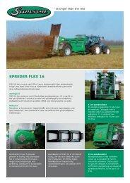 SPREDER FLEX 16 - Samson Agro A/S