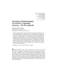 The Web Appendix - Georgetown University