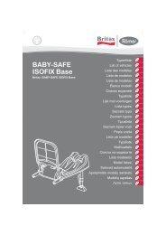BABY-SAFE ISOFIX Base