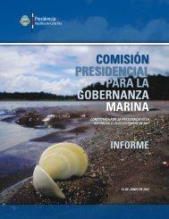 Informe Final Comisión Gobernanza Marina - cimar