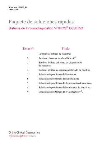 VITROS 250/350 Maintenance Log EN - Ortho Clinical Diagnostics