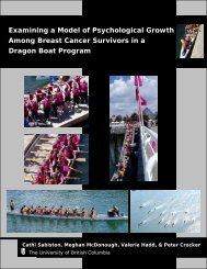 View summary report - UBC School of Kinesiology - University of ...