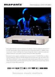 Odtwarzacz DVD DV4003 - AUDIO KLAN