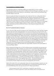 Gewerkschaften im Arabischen Frühling - die Blogs der Gpa-djp