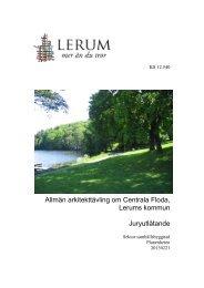 Jury utlåtande - Lerums Kommun